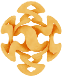 Modern version of the Eternal Knot by Charles Huttner