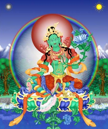Green Tara by Bob Jacobson