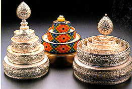 Mandala - sets used for offering