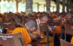 Studying monks