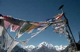 Prayerflags in Tibet